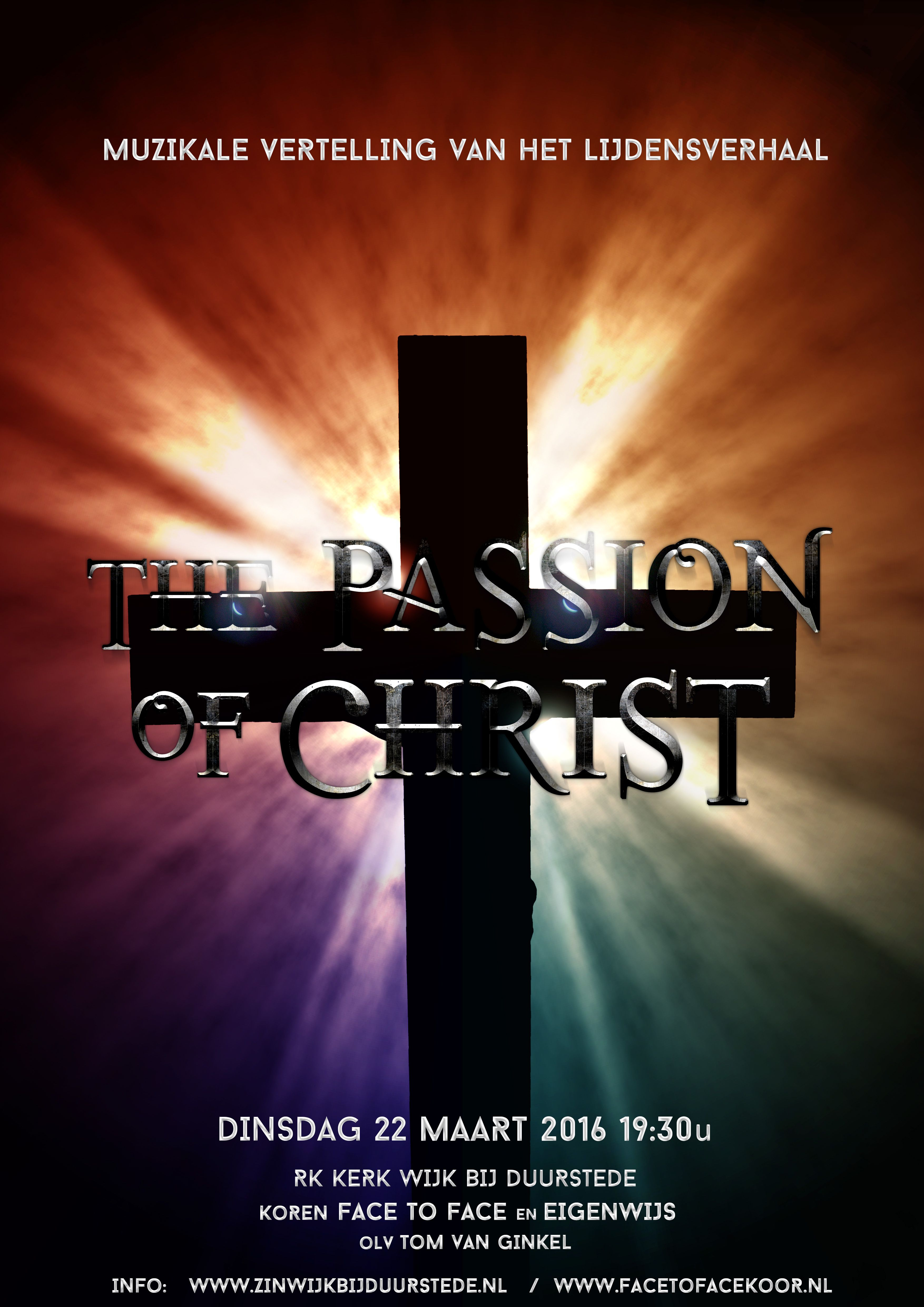 The Passion of Christ 22 maart 2016